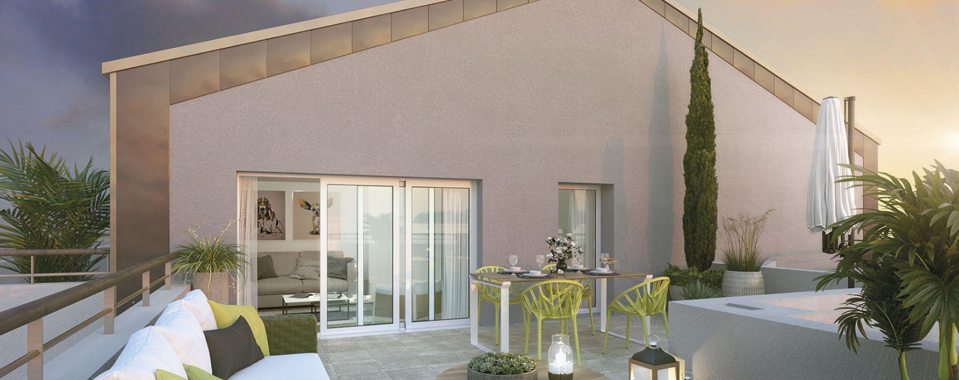 Noyal-Châtillon-sur-Seiche : programme immobilier neuve « Prisme » (2)