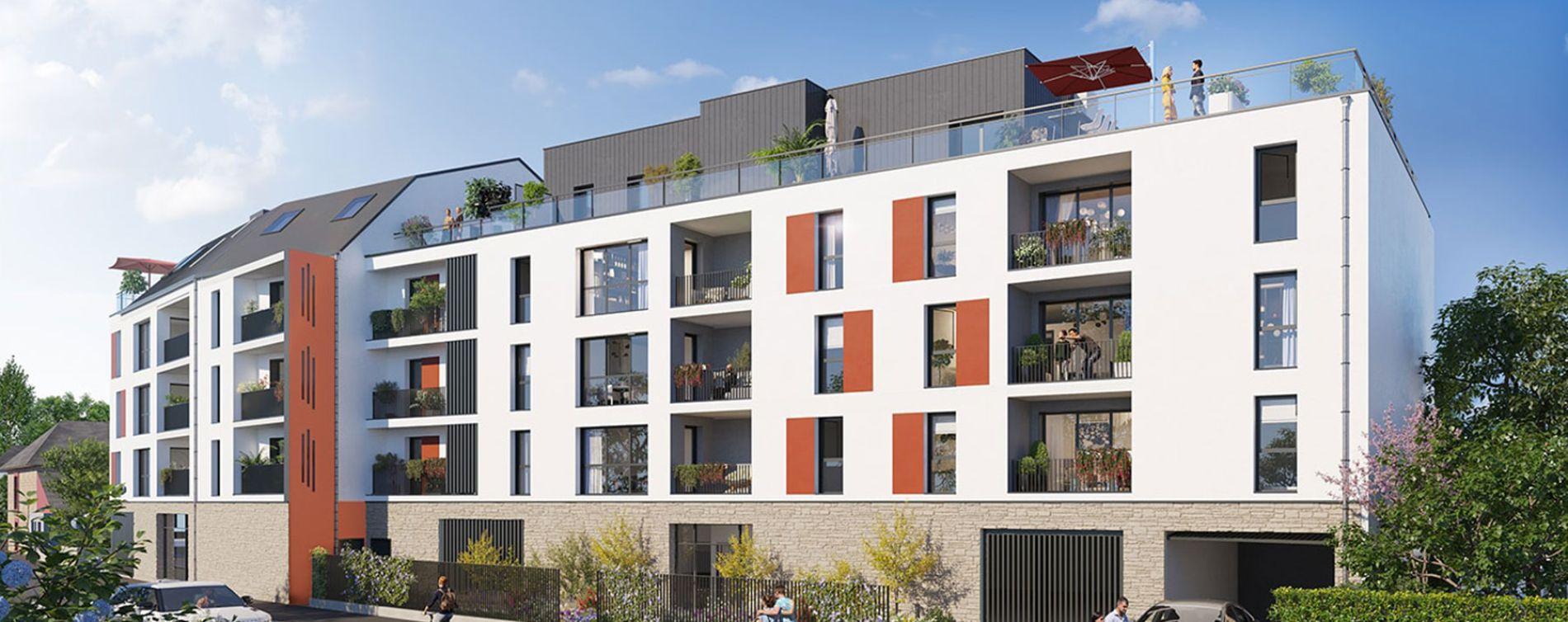 Noyal-sur-Vilaine : programme immobilier neuve « Villa Fleurus » en Loi Pinel