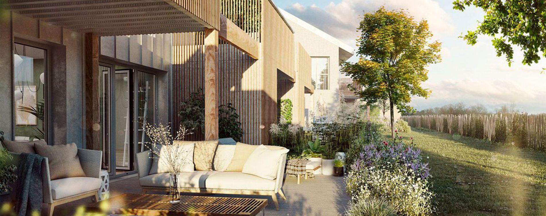 Orgères : programme immobilier neuve « O'Bois »