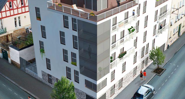Photo n°1 du Résidence « Aénor » programme immobilier neuf en Loi Pinel à Rennes