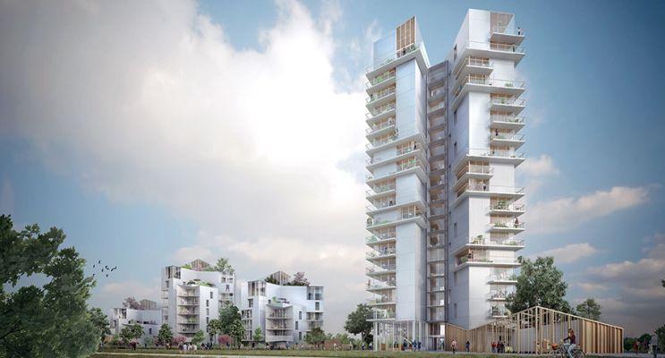 Photo du Résidence « Chromosome » programme immobilier neuf en Loi Pinel à Rennes