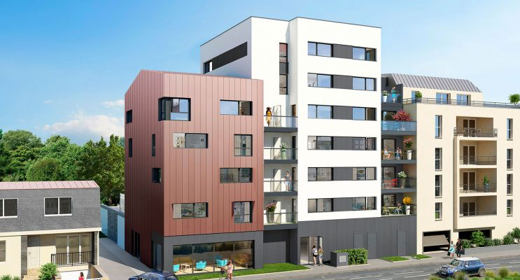Rennes : programme immobilier neuf « City Lodge »