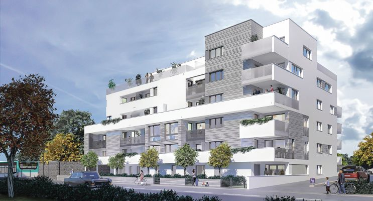 Résidence « Cloud » programme immobilier neuf en Loi Pinel à Rennes n°1
