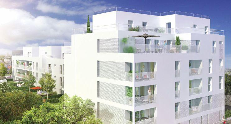 Rennes : programme immobilier neuf « Edelweiss » en Loi Pinel