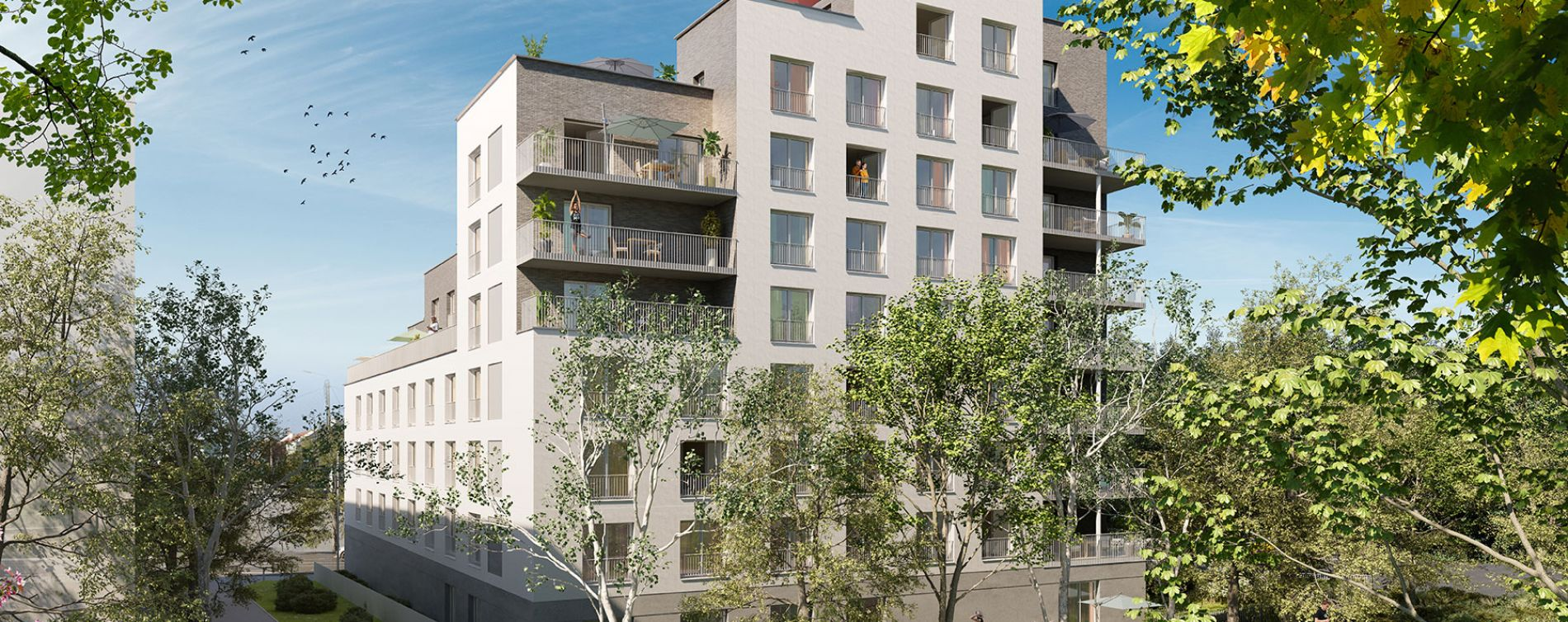 Rennes : programme immobilier neuve « Green Academy »