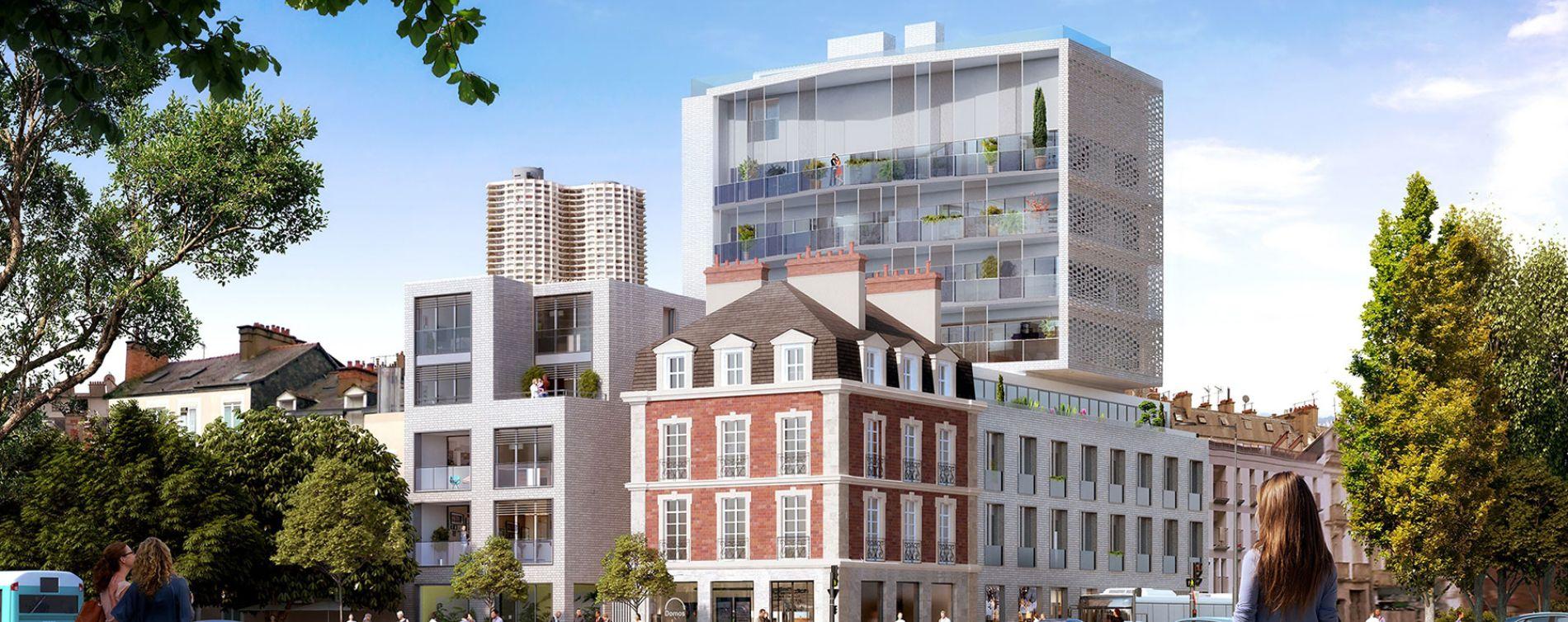 Rennes : programme immobilier neuve « Inside » en Loi Pinel