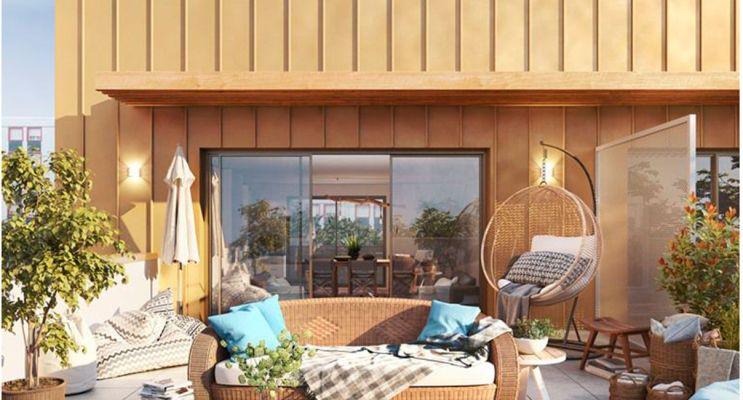 Rennes : programme immobilier neuf « Kosmo » en Loi Pinel
