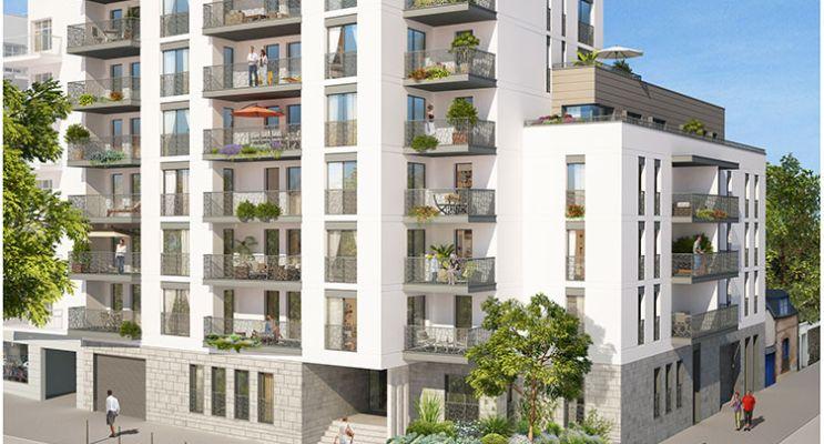 Résidence « Le Locarno » programme immobilier neuf en Loi Pinel à Rennes