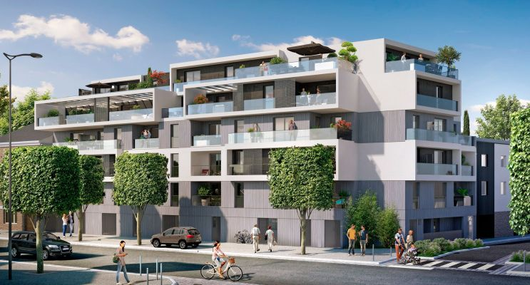 Photo du Résidence « L'Escale » programme immobilier neuf en Loi Pinel à Rennes