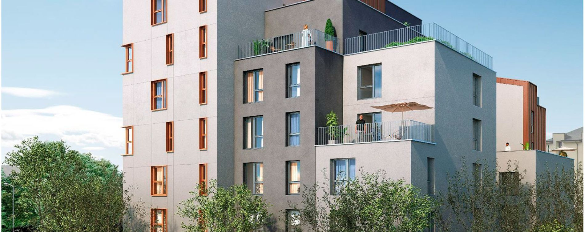 Rennes : programme immobilier neuve « My Campus Rennes I »