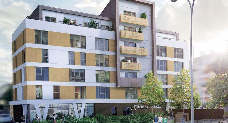 Photo du Résidence « My Campus Villejean Université » programme immobilier neuf à Rennes