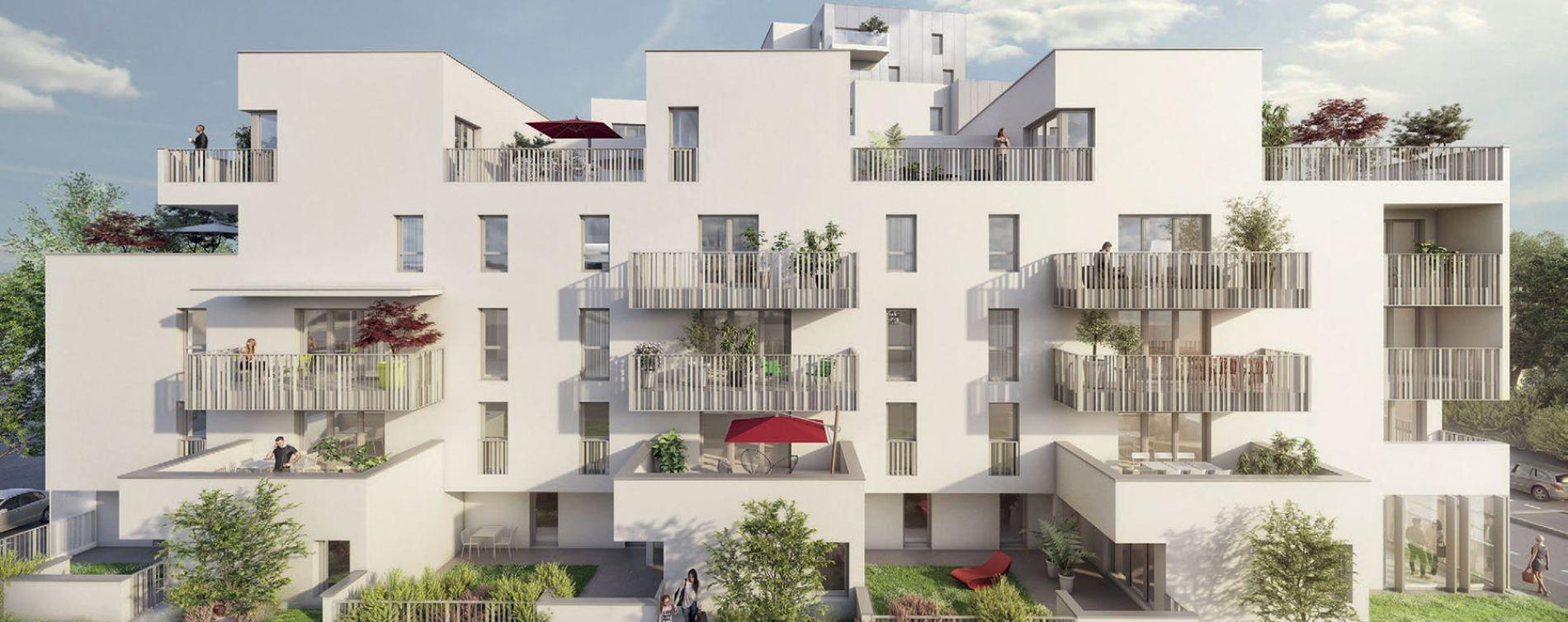 Rennes : programme immobilier neuve « My Loft »