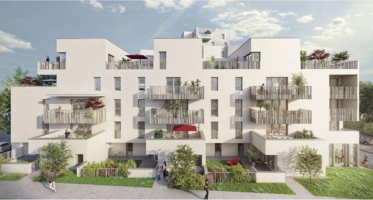 Résidence « My Loft » programme immobilier neuf en Loi Pinel à Rennes