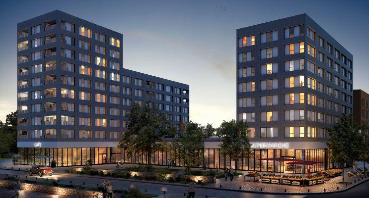 Photo du Résidence « New City » programme immobilier neuf à Rennes