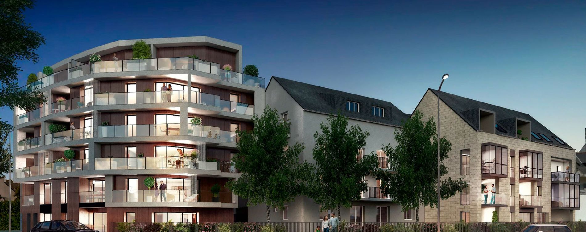 Rennes : programme immobilier neuve « Osmose » en Loi Pinel