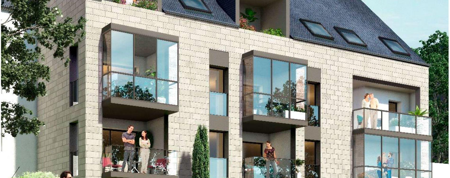 Rennes : programme immobilier neuve « Osmose » en Loi Pinel (3)