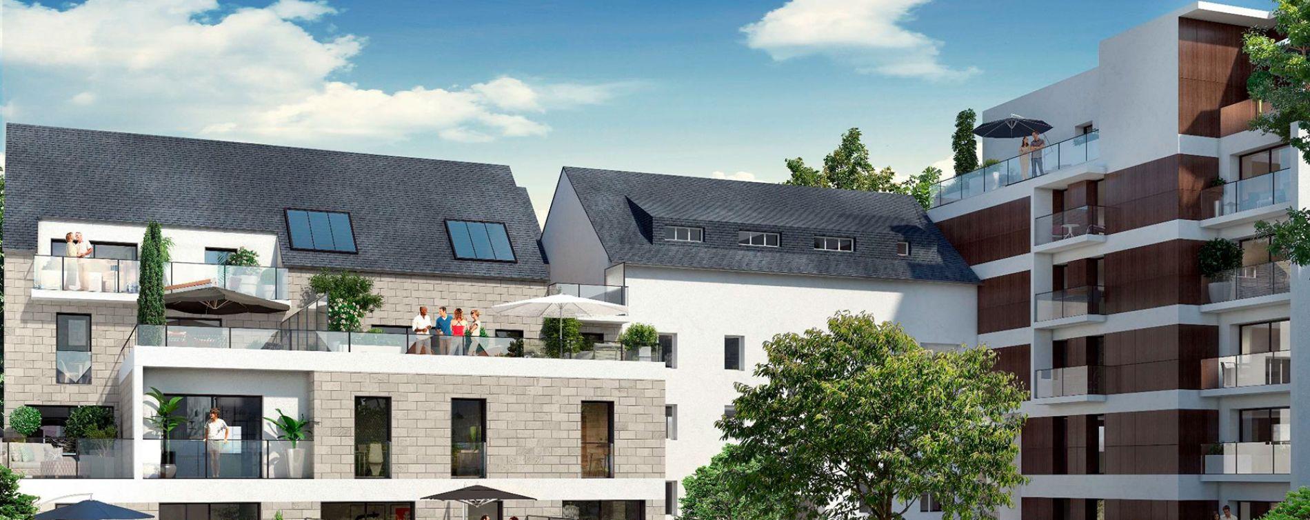 Rennes : programme immobilier neuve « Osmose » en Loi Pinel (4)