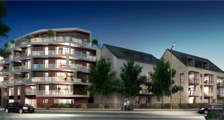 Photo du Résidence « Osmose » programme immobilier neuf en Loi Pinel à Rennes