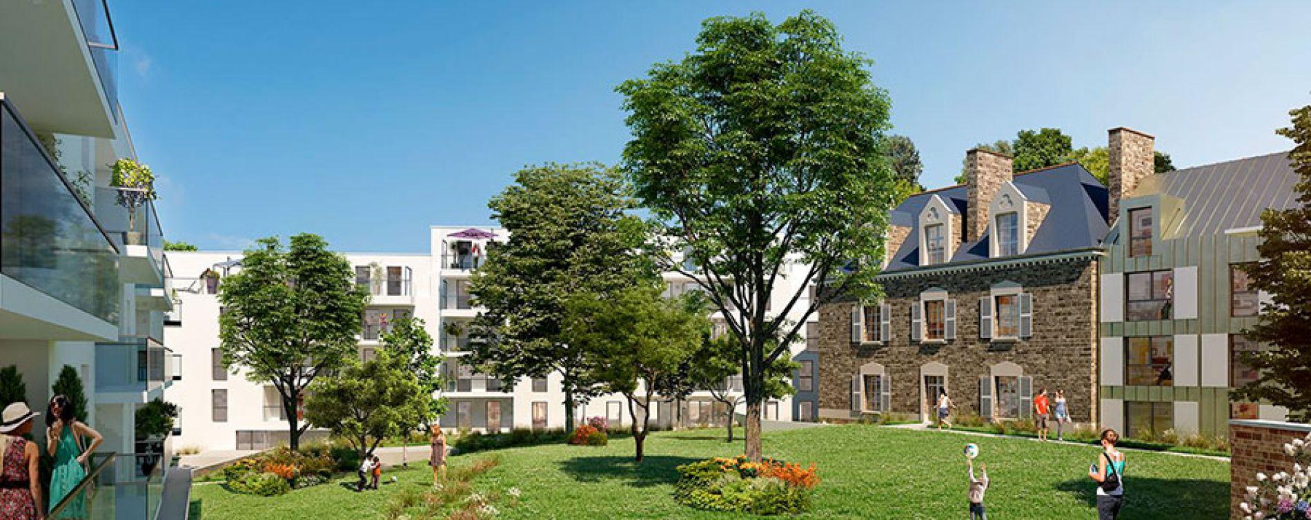 Résidence Parc du Ronceray - Nue propriété à Rennes