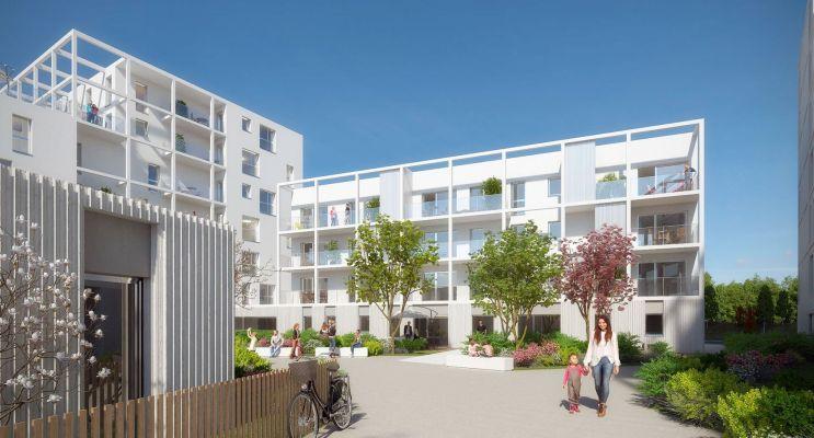 Résidence « Plein Ciel » programme immobilier neuf en Loi Pinel à Rennes n°2