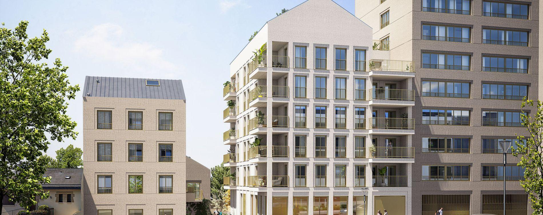 Rennes : programme immobilier neuve « Sésame » en Loi Pinel