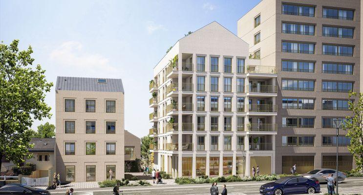 Rennes : programme immobilier neuf « Sésame » en Loi Pinel