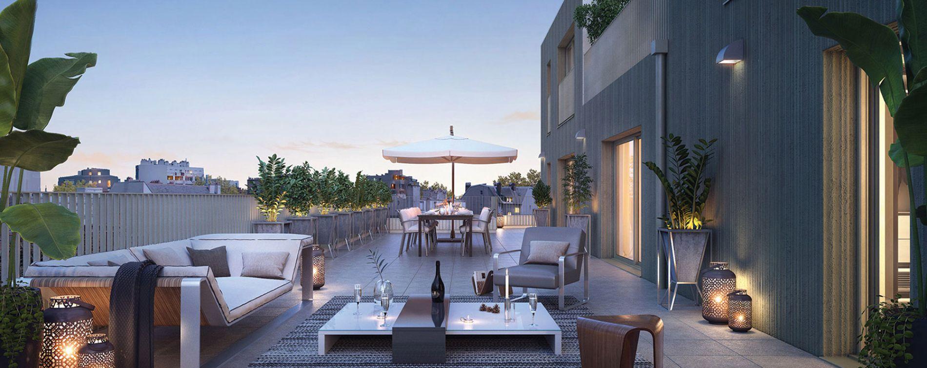 Rennes : programme immobilier neuve « Vertygo » en Loi Pinel