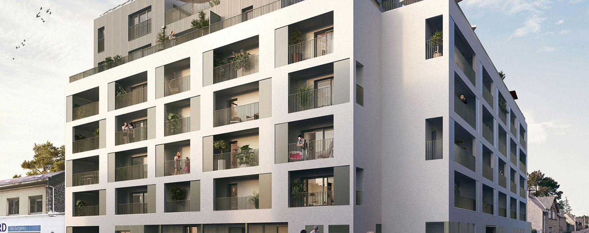 Rennes : programme immobilier neuve « Vertygo » en Loi Pinel (2)