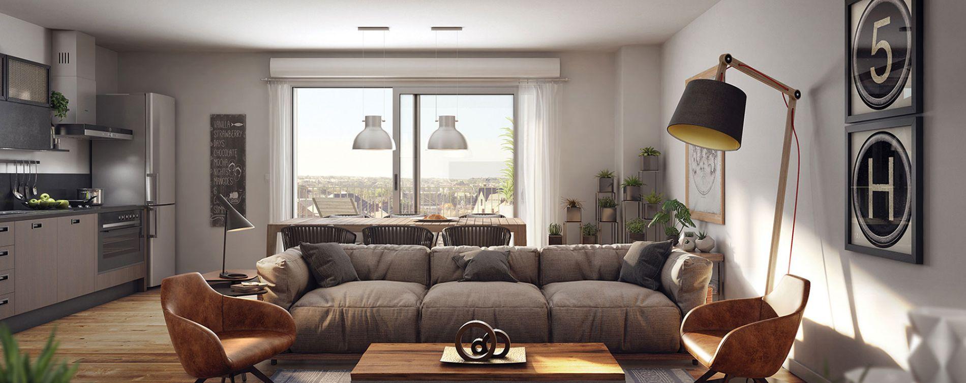 Rennes : programme immobilier neuve « Vertygo » en Loi Pinel (3)