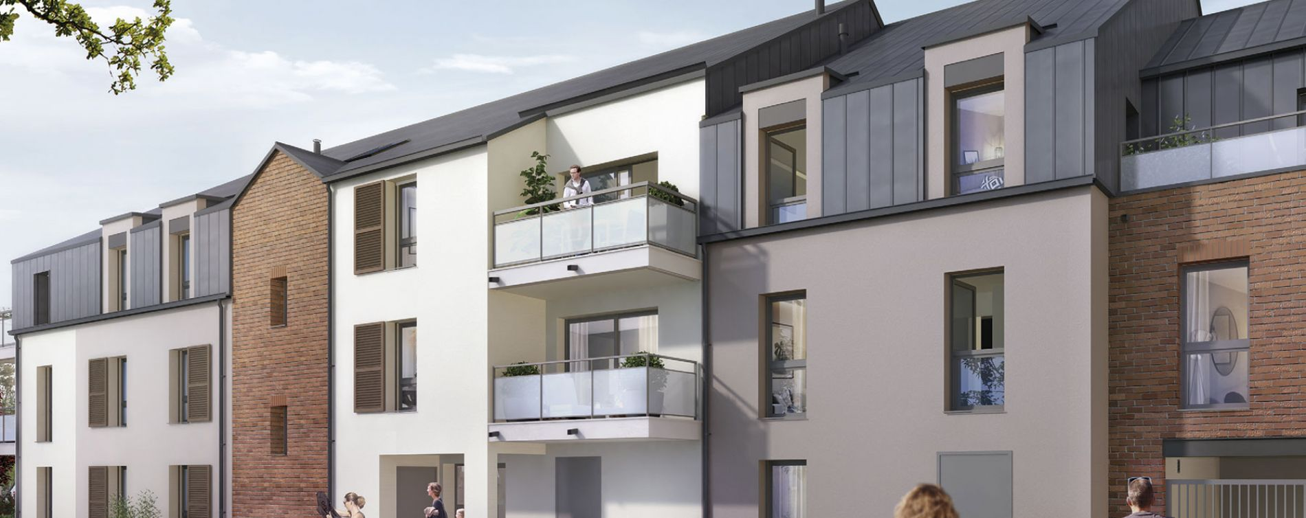 Saint-Erblon : programme immobilier neuve « Grand Bois » en Loi Pinel