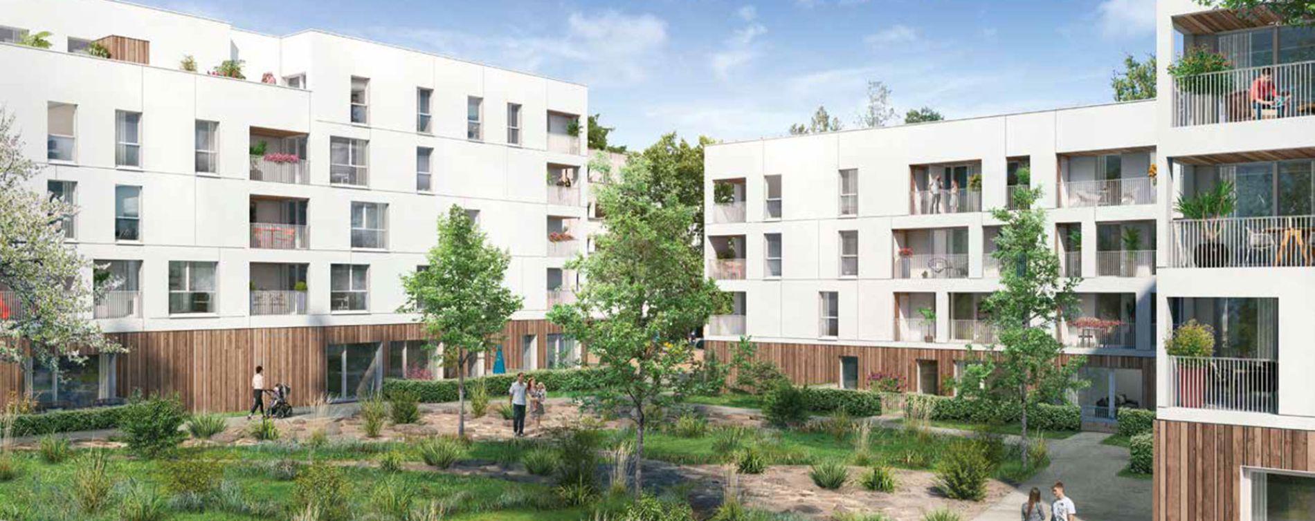 Saint-Jacques-de-la-Lande : programme immobilier neuve « Cocoon » en Loi Pinel