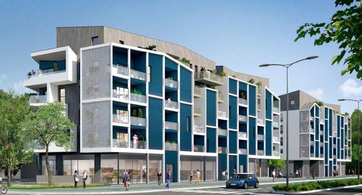 Saint-Malo programme immobilier neuf « Cadence » en Loi Pinel
