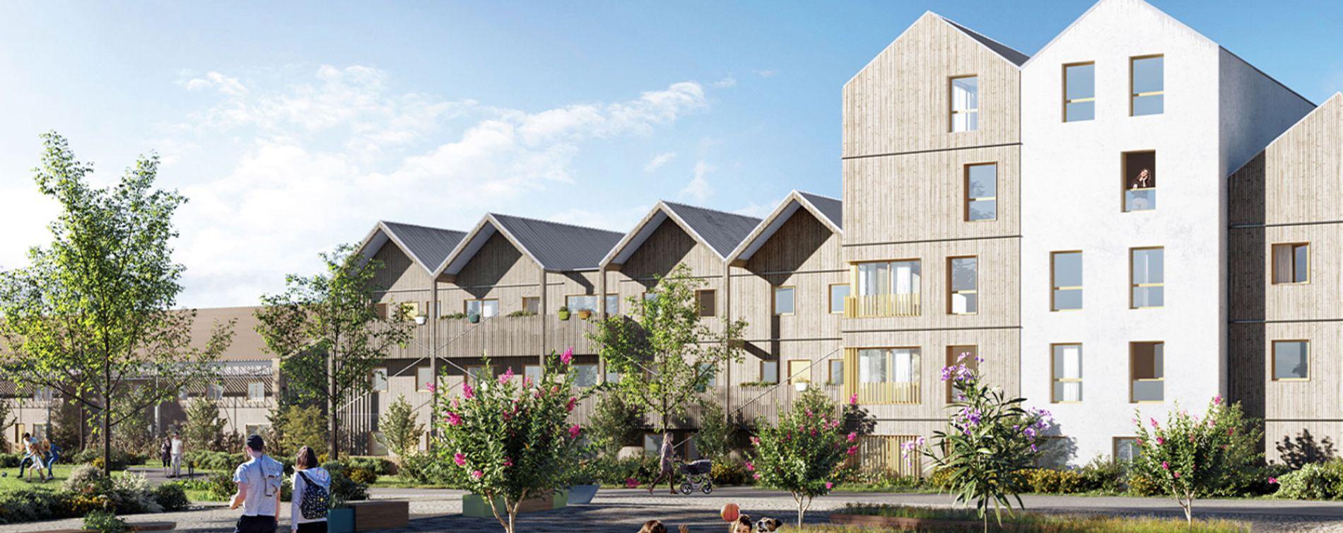 Saint-Malo : programme immobilier neuve « Carrousel » en Loi Pinel