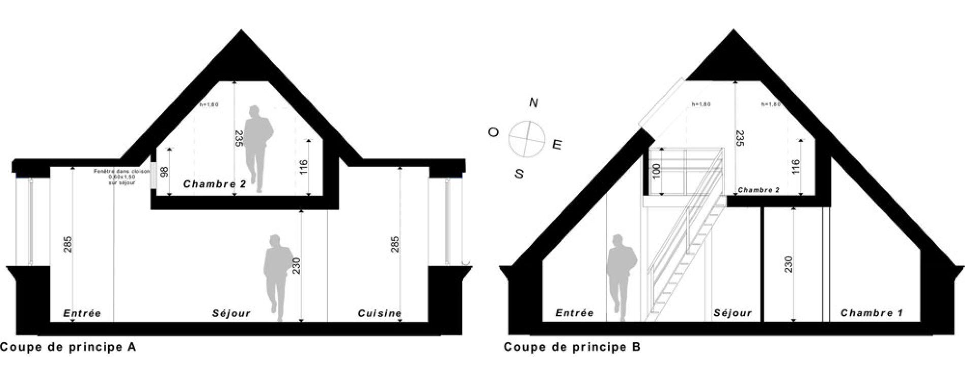 Duplex T3 de 74,95 m2 à Saint-Malo Intra-muros