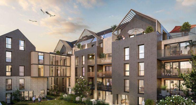 Saint-Malo programme immobilier neuf « L'Amiral » en Loi Pinel