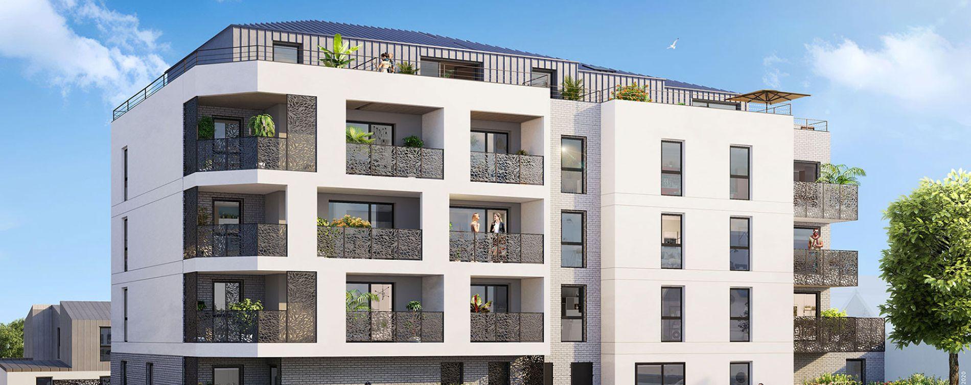 Saint-Malo : programme immobilier neuve « Le Baltique »