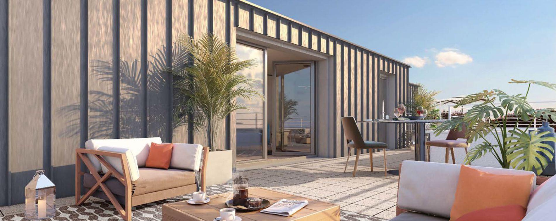 Saint-Malo : programme immobilier neuve « Le Baltique » (2)