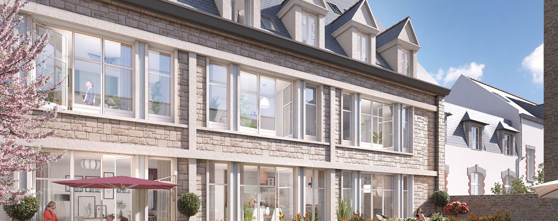 Saint-Malo : programme immobilier neuve « L'Etoile » (2)