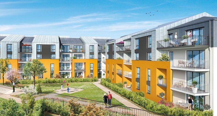 Photo du Résidence « Les Colombines » programme immobilier neuf à Thorigné-Fouillard