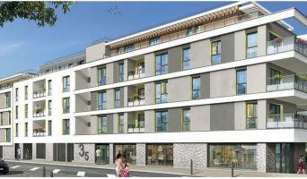 Résidence « Vil'Lariboisière » programme immobilier neuf en Loi Pinel à Thorigné-Fouillard n°2