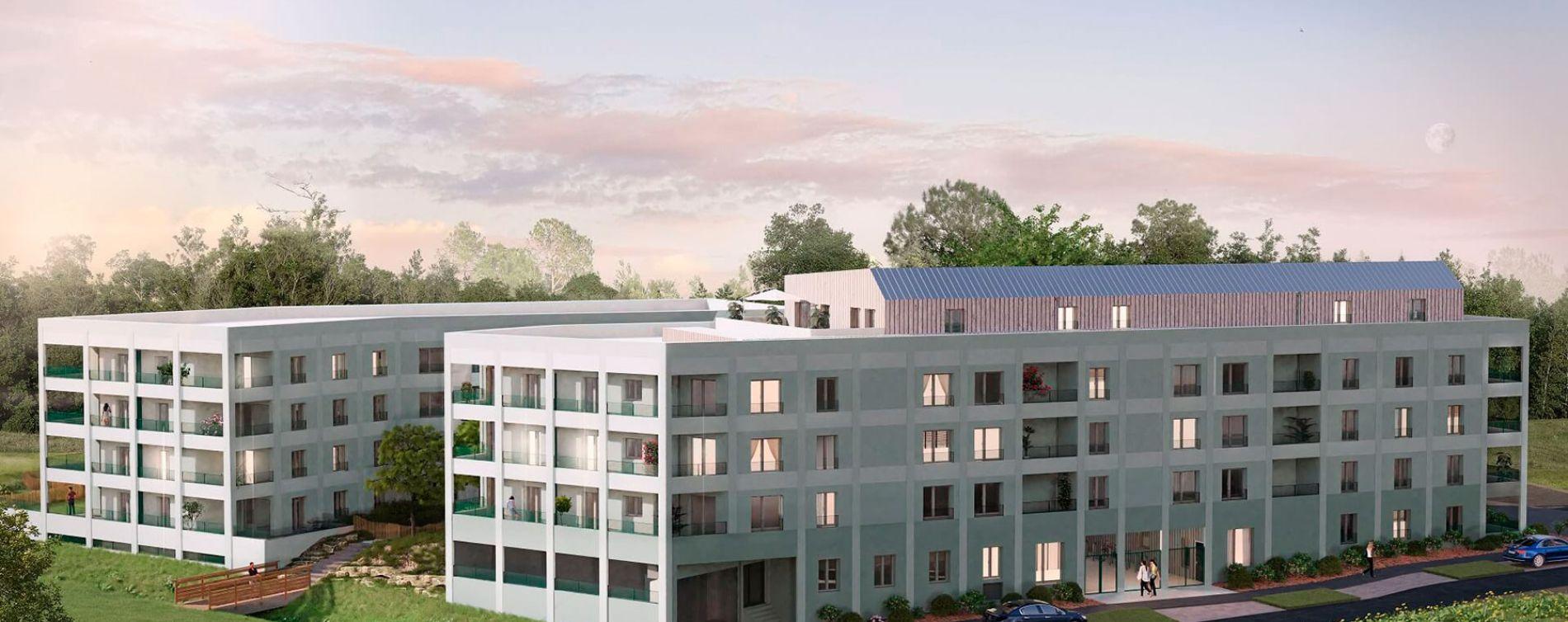 Vezin-le-Coquet : programme immobilier neuve « Arbor & Sens » en Loi Pinel