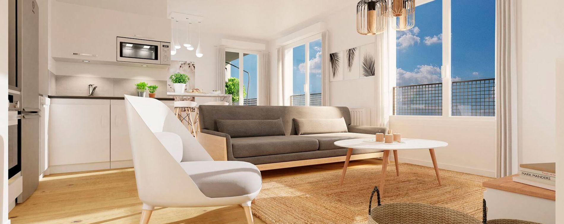 Vezin-le-Coquet : programme immobilier neuve « Arbor & Sens » en Loi Pinel (5)