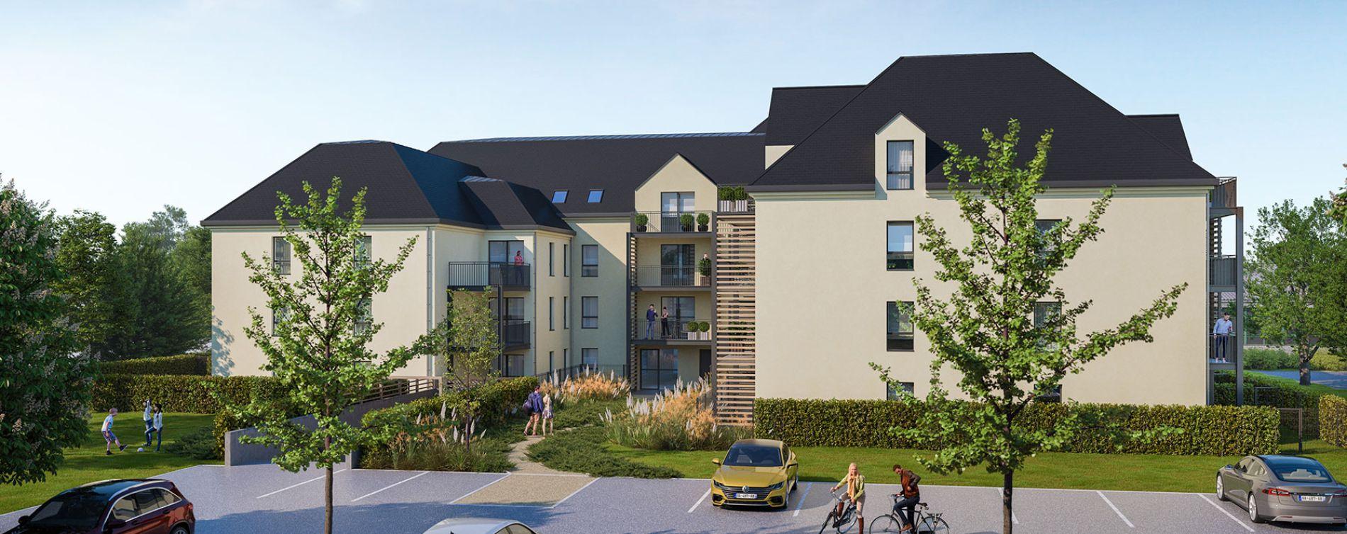 Vitré : programme immobilier neuve « Le Kastell » en Loi Pinel