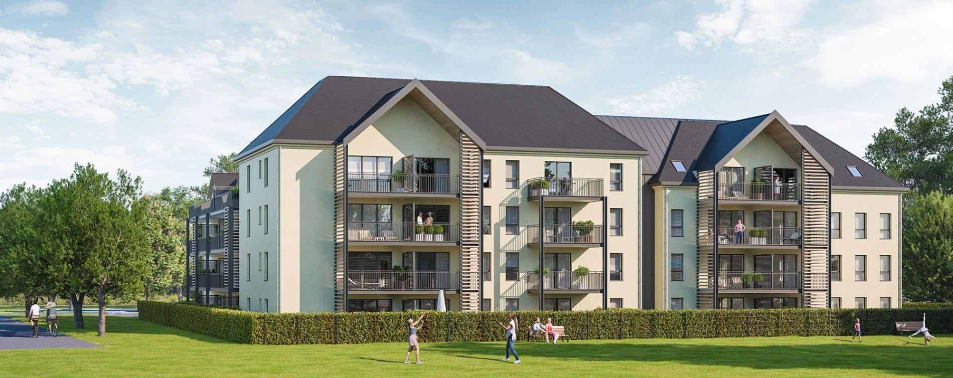 Vitré : programme immobilier neuve « Le Kastell » en Loi Pinel (2)