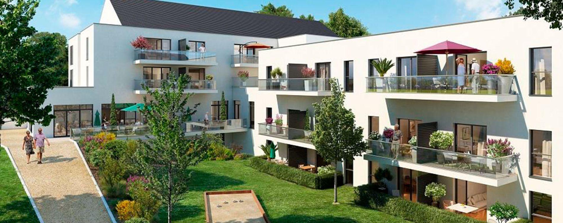 La Roche-Bernard : programme immobilier neuve « Jardin Valentin » (2)