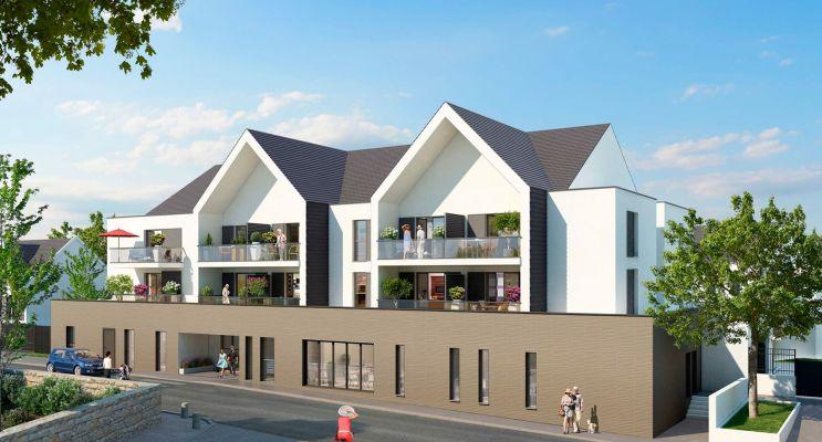 Photo du Résidence « Jardin Valentin » programme immobilier neuf à La Roche-Bernard