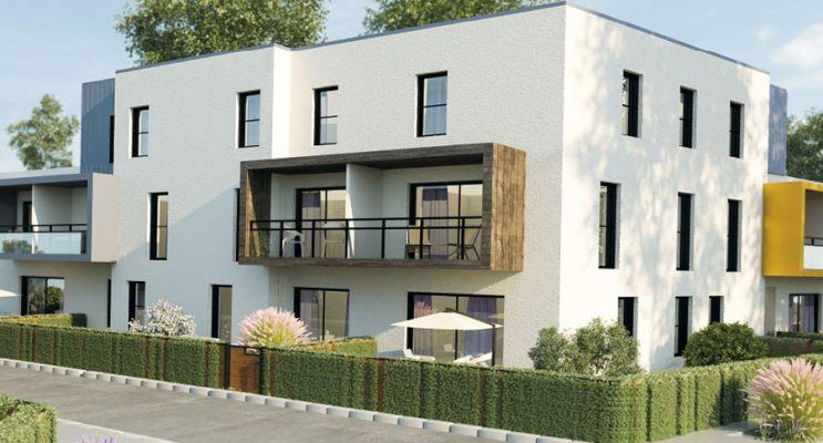 Lanester : programme immobilier neuf « Les Hauts de Ville » en Loi Pinel
