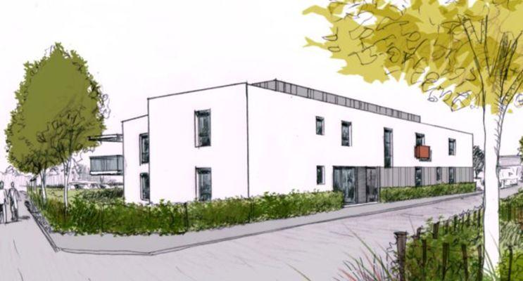 Résidence « Les Hauts De Ville » programme immobilier neuf à Lanester n°3