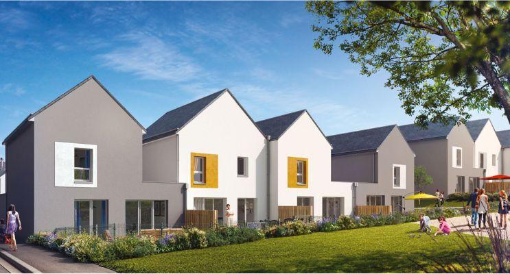 Photo du Résidence « Les Villas du Scorff » programme immobilier neuf à Lanester