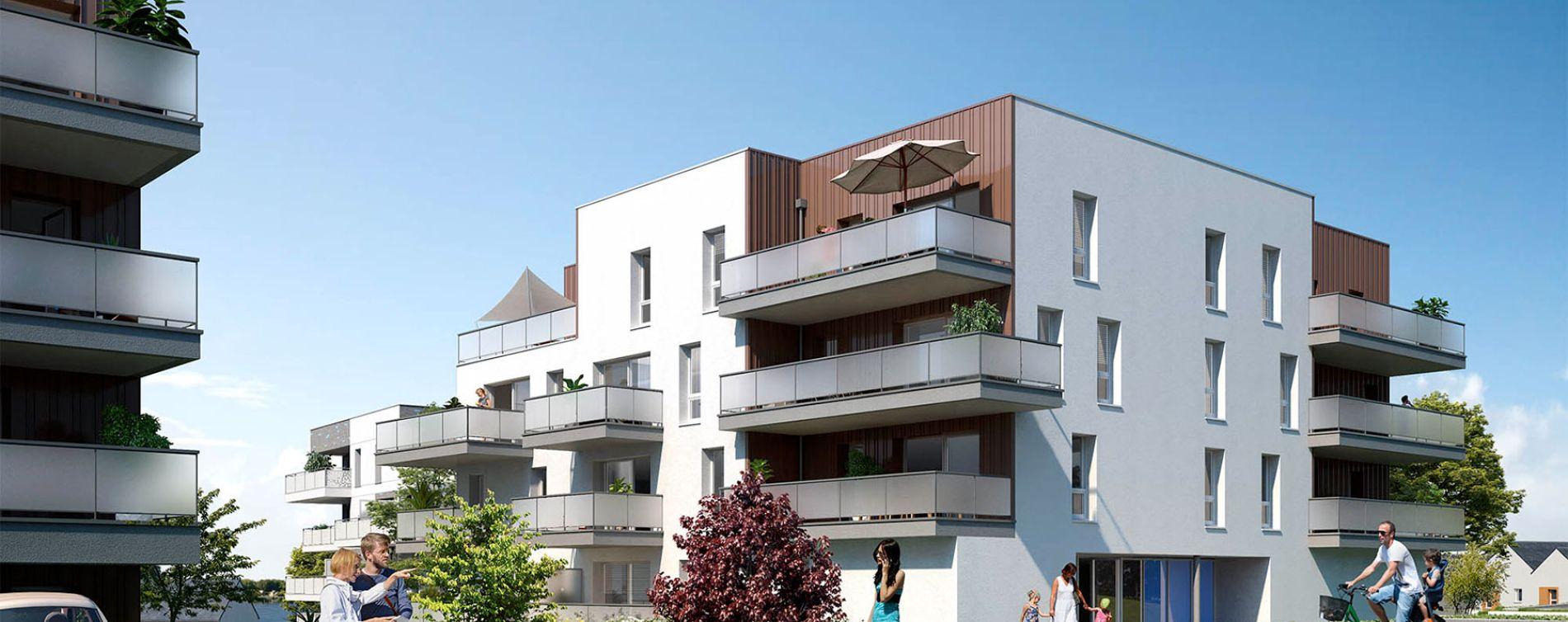 Lanester : programme immobilier neuve « Sundeck »